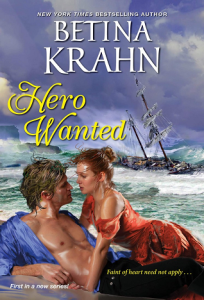 Cover of Hero Wanted by Betina Krahn. Image copyright (c) James Griffin. All rights reserved.